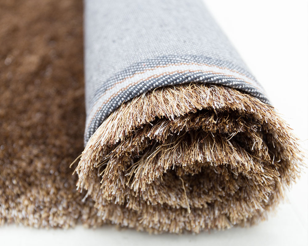 Silk Touch Shaggy - Brown Multi